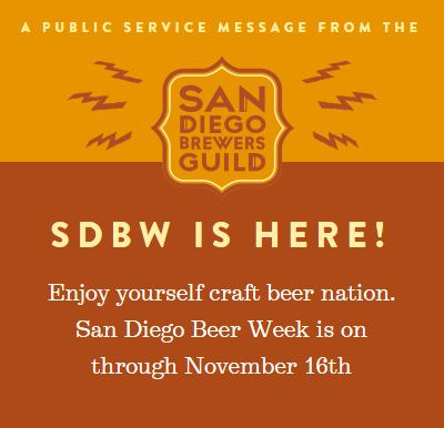 Sdbw 2014 91x fm for Craft beer guild san diego