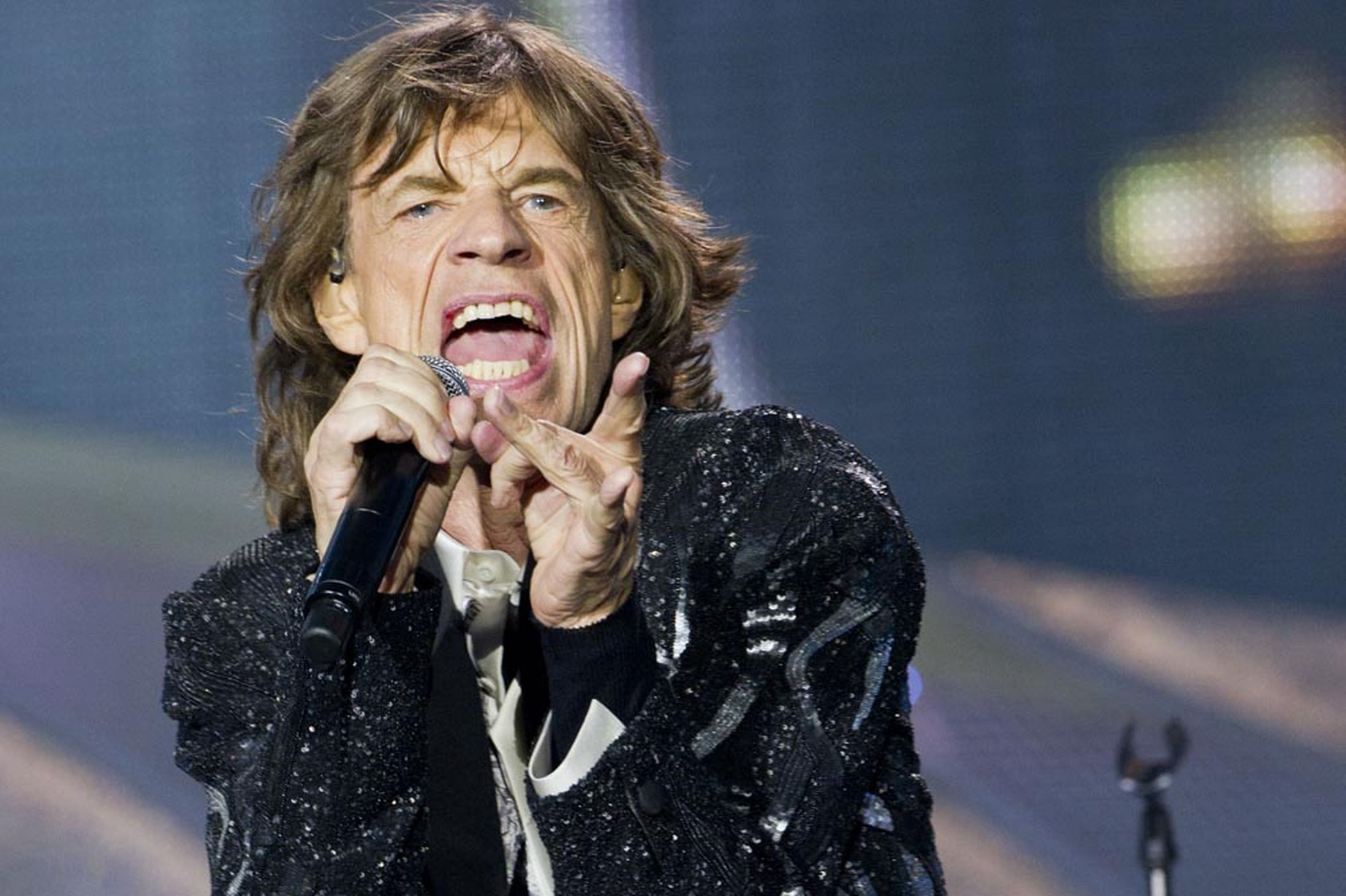 mick jagger wife