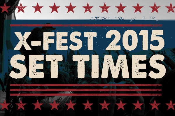 Here Are The X Fest Set Times 91X