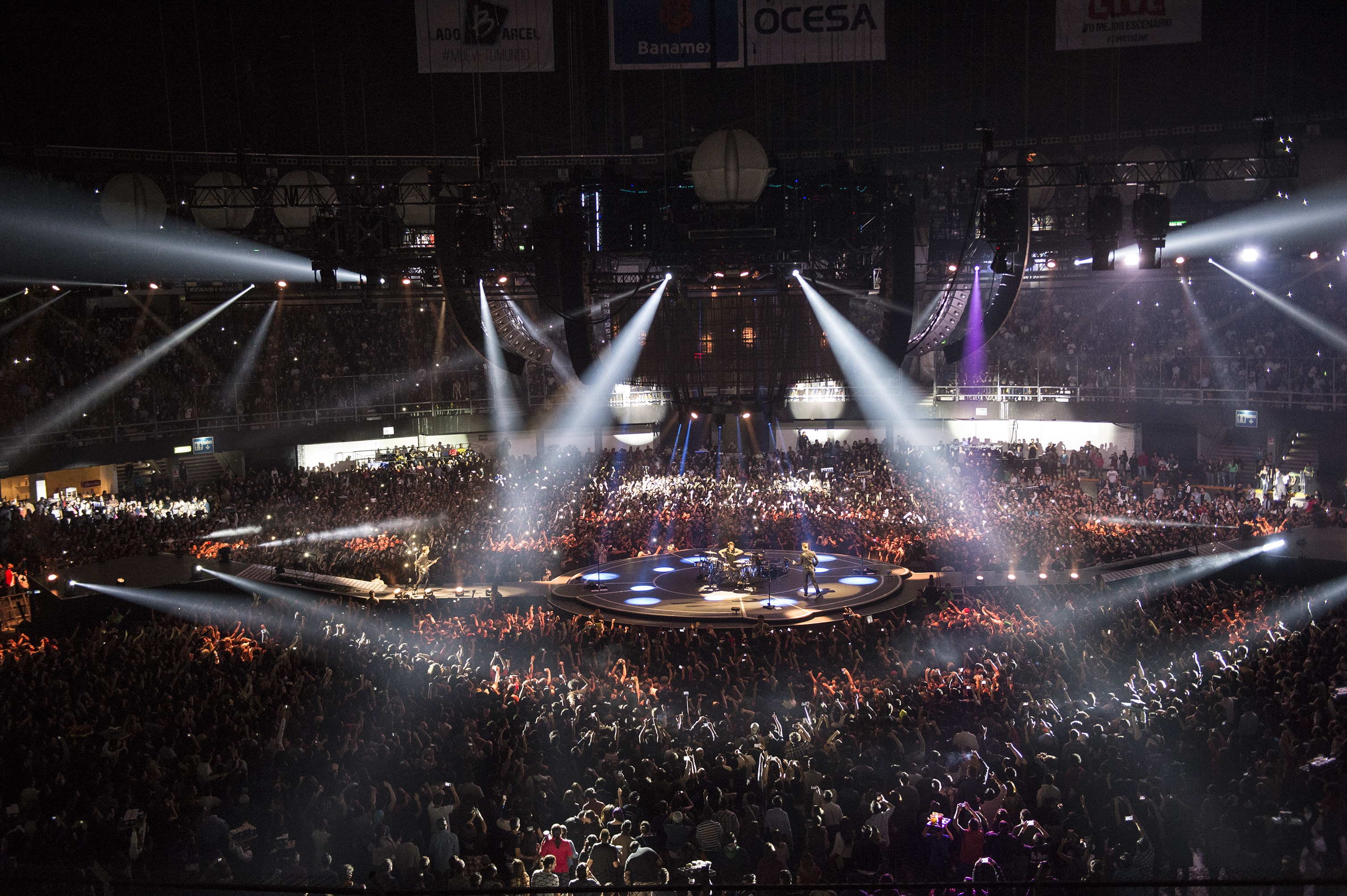 Centre Bell Floor Plan The Stage Set Up For The Muse Drones Tour Is Incredible
