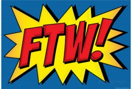 ftw-comic-pop-art-art-print-poster