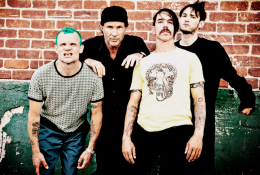 new red hot chili peppers