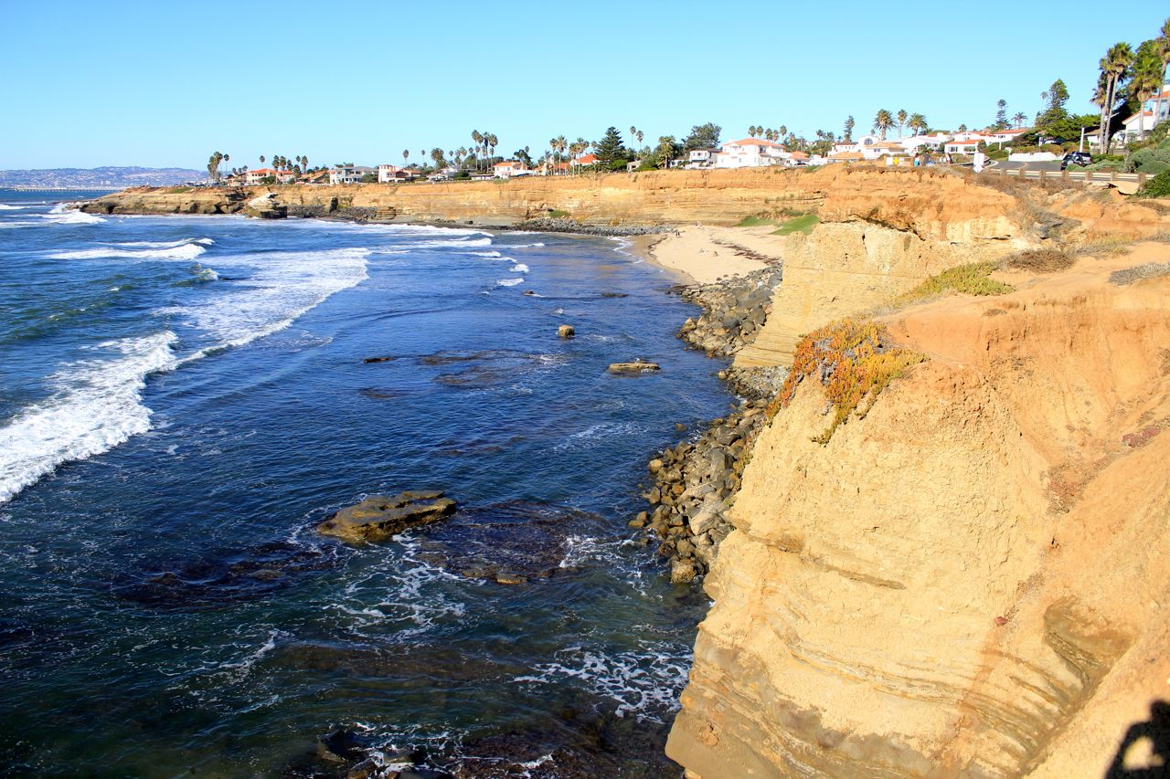 Sunset Cliffs Natural Park Beach