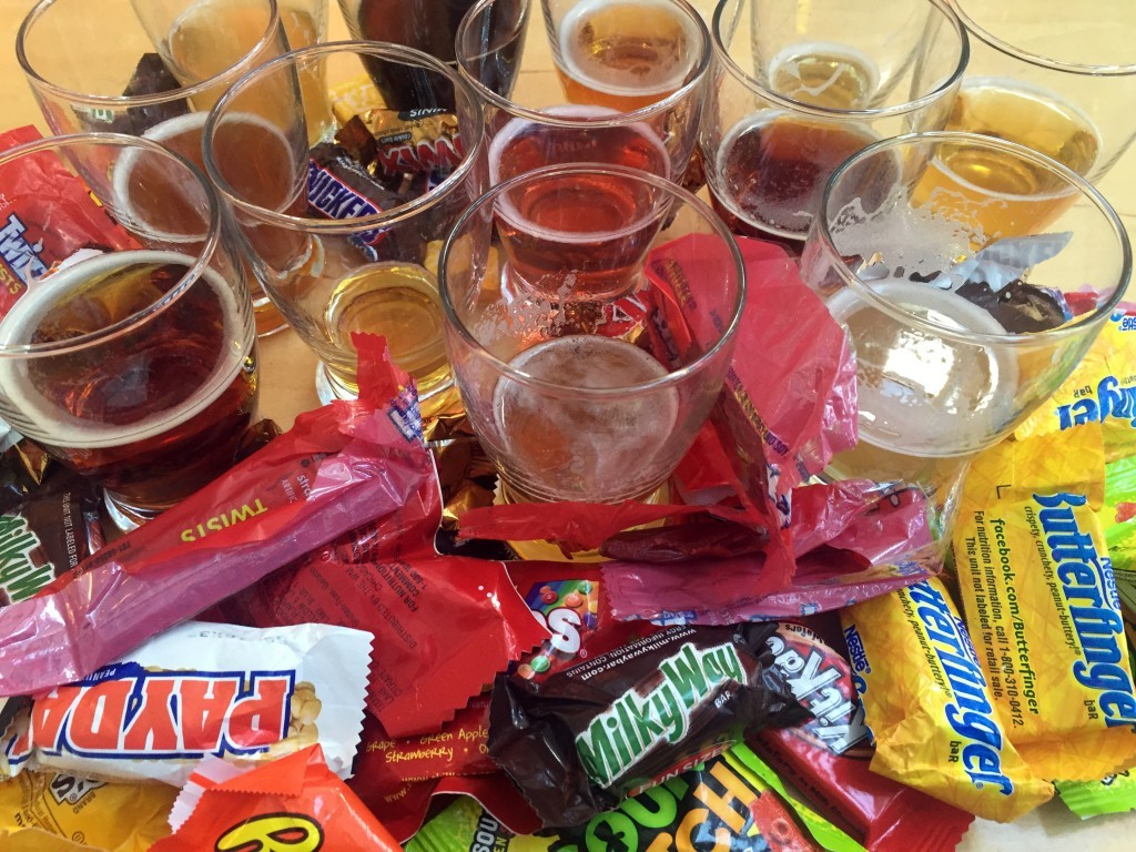 craft beer + halloween candy = amazing! - 91x fm