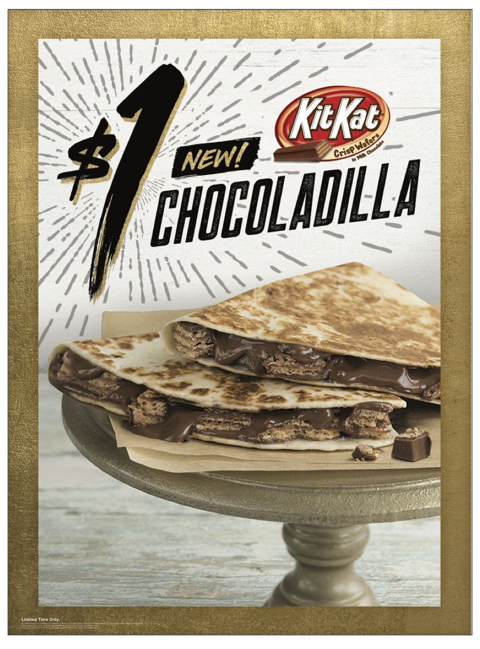 BLESSED Taco Bell Kit Kat Quesadillas Are A Thing