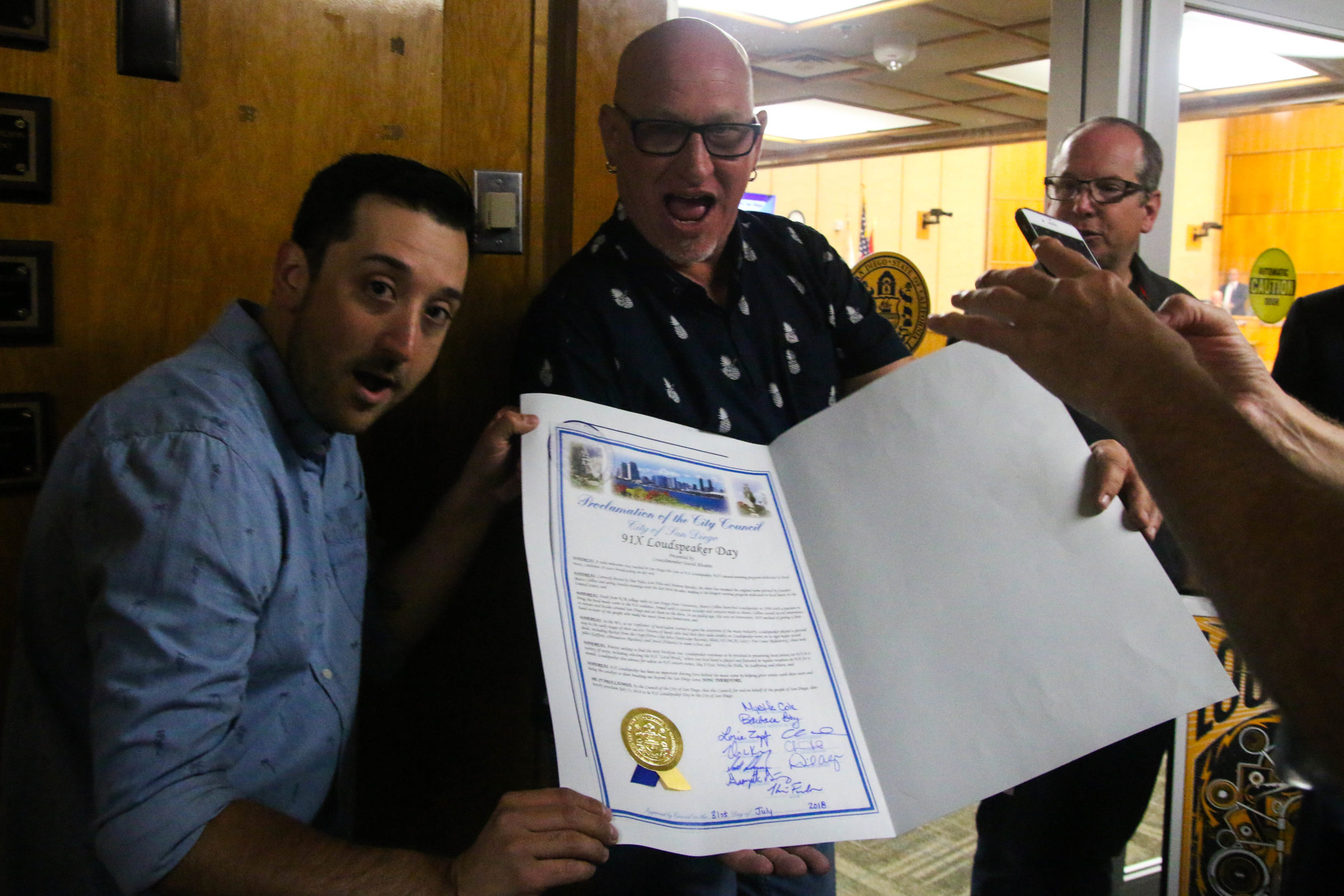 91X Loudspeaker Day In The City Of San Diego July 31st 2018