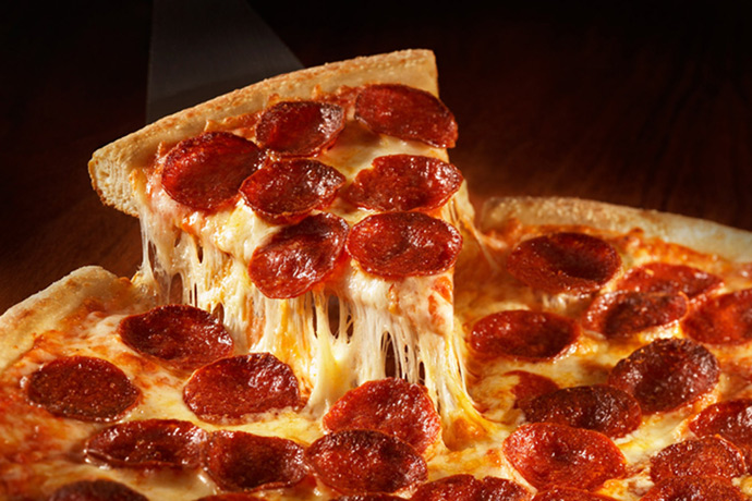 Image result for pizza pepperoni